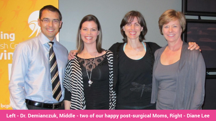 Diastasis Rectus Abdominis: Happy post-surgical moms